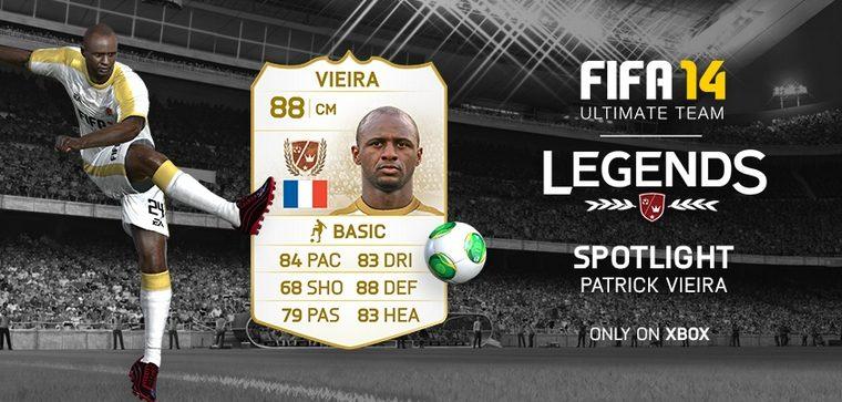 FIFA 14 Ultimate Team Legends: Patrick Vieira