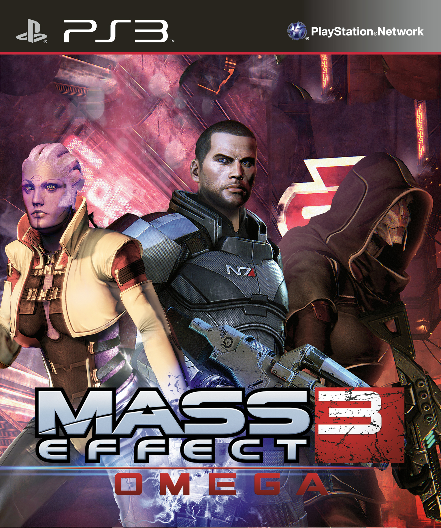 Mass Effect 3: Omega PlayStation 3