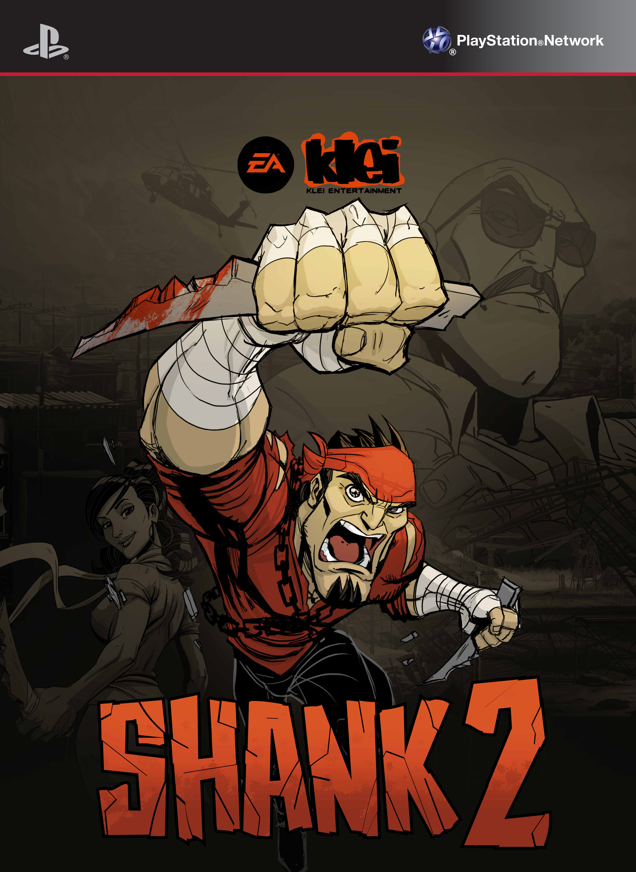 Shank 2 Playstation Network