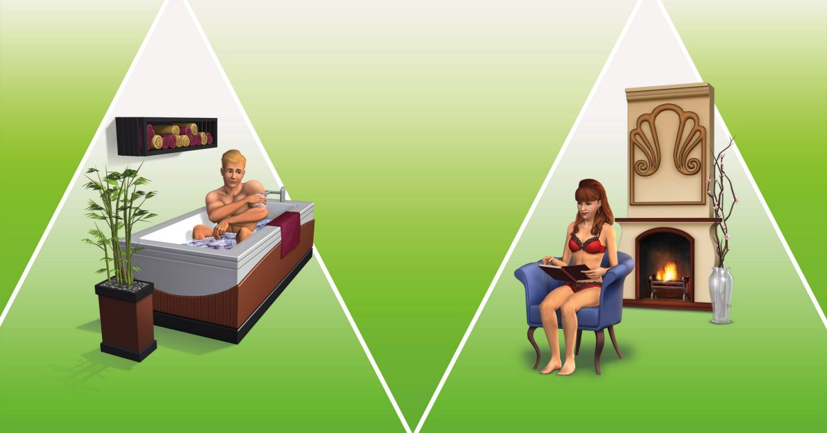 Vasca Da Bagno The Sims Mobile : The sims 3 master suite stuff pack