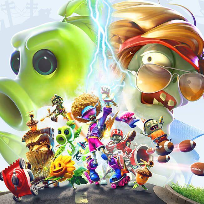 Plants vs Zombies Video Games - PopCap Studios - Official EA