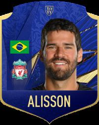 alisson gk goalkeeper liverpool - FIFA 21 – Guida: FUT Ultimate Team, la nostra previsione sui TOTY