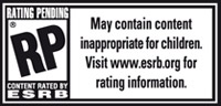 Need For Speed ESRB