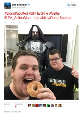 The Battlefield™ Hardline Delicious Donut Challenge