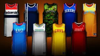 nba special jerseys
