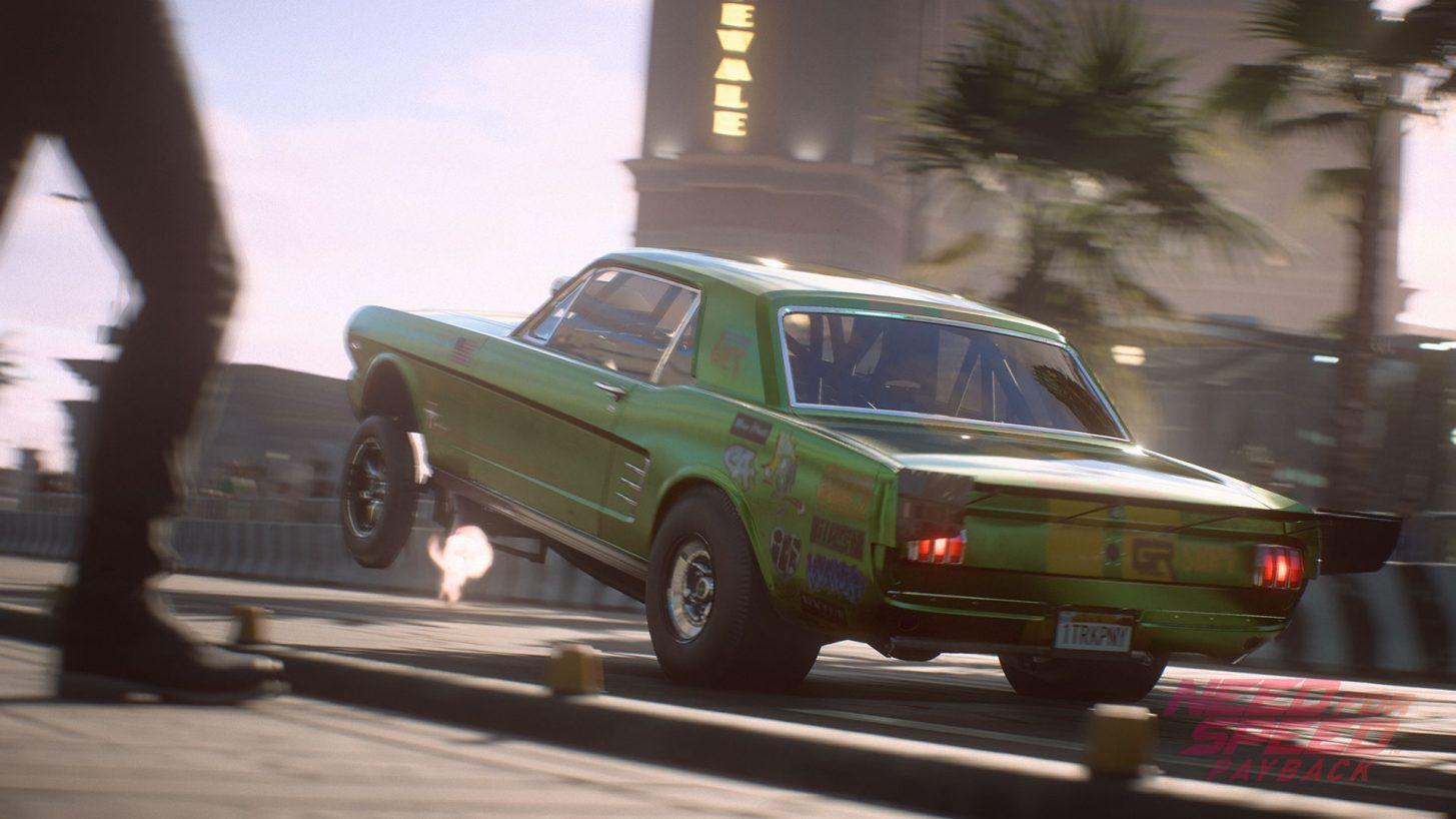 Need for Speed Payback - Classi auto - Accelerazione