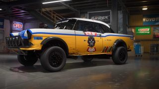 chevrolet bel air 1955 build of the week need for speed payback. Black Bedroom Furniture Sets. Home Design Ideas