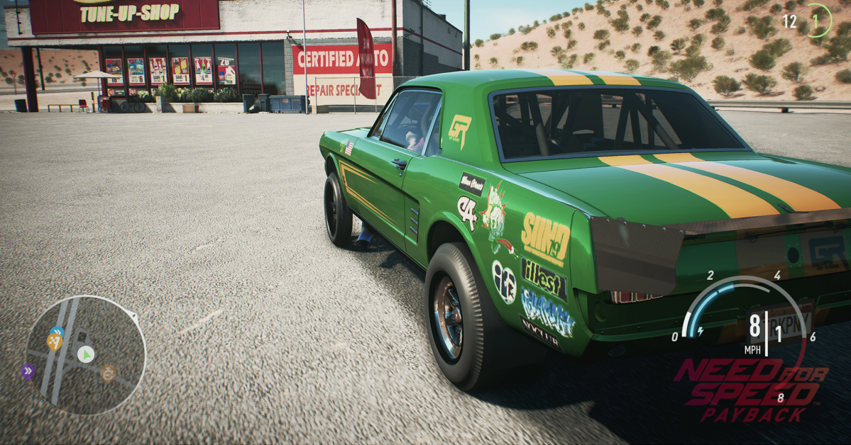 concesionarios garajes y talleres need for speed payback