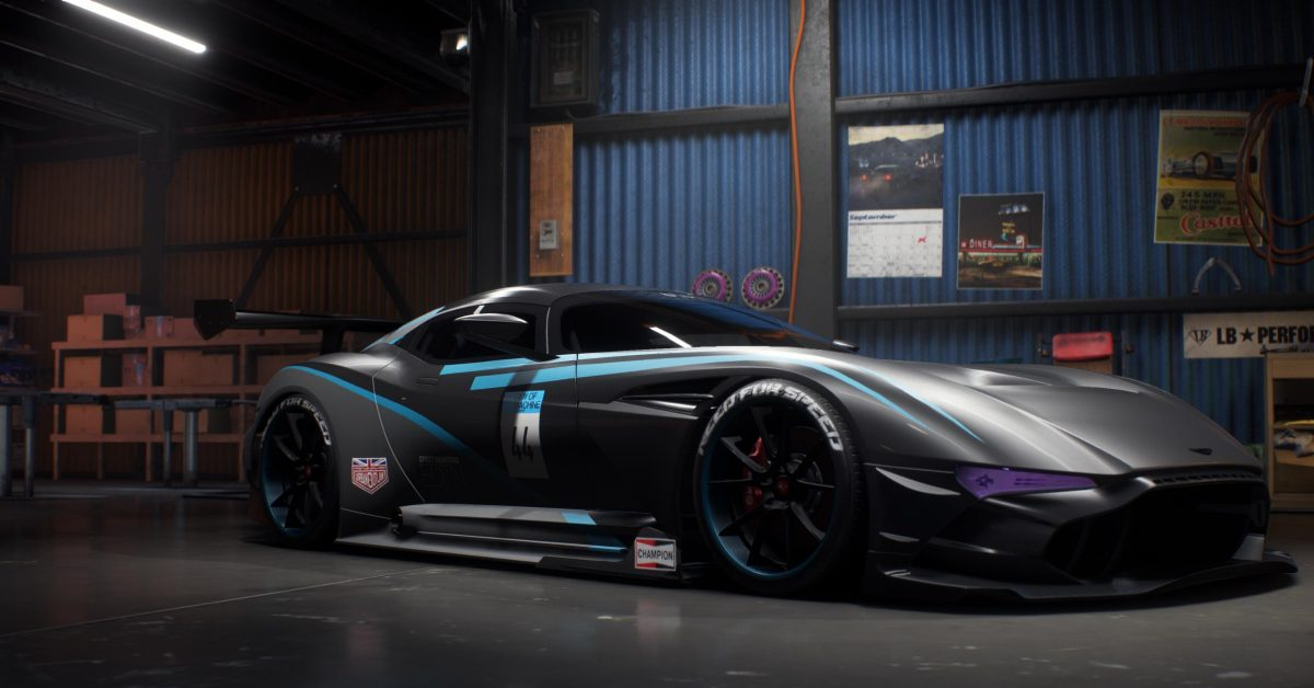 aston martin vulcan build of the week need for speed payback. Black Bedroom Furniture Sets. Home Design Ideas