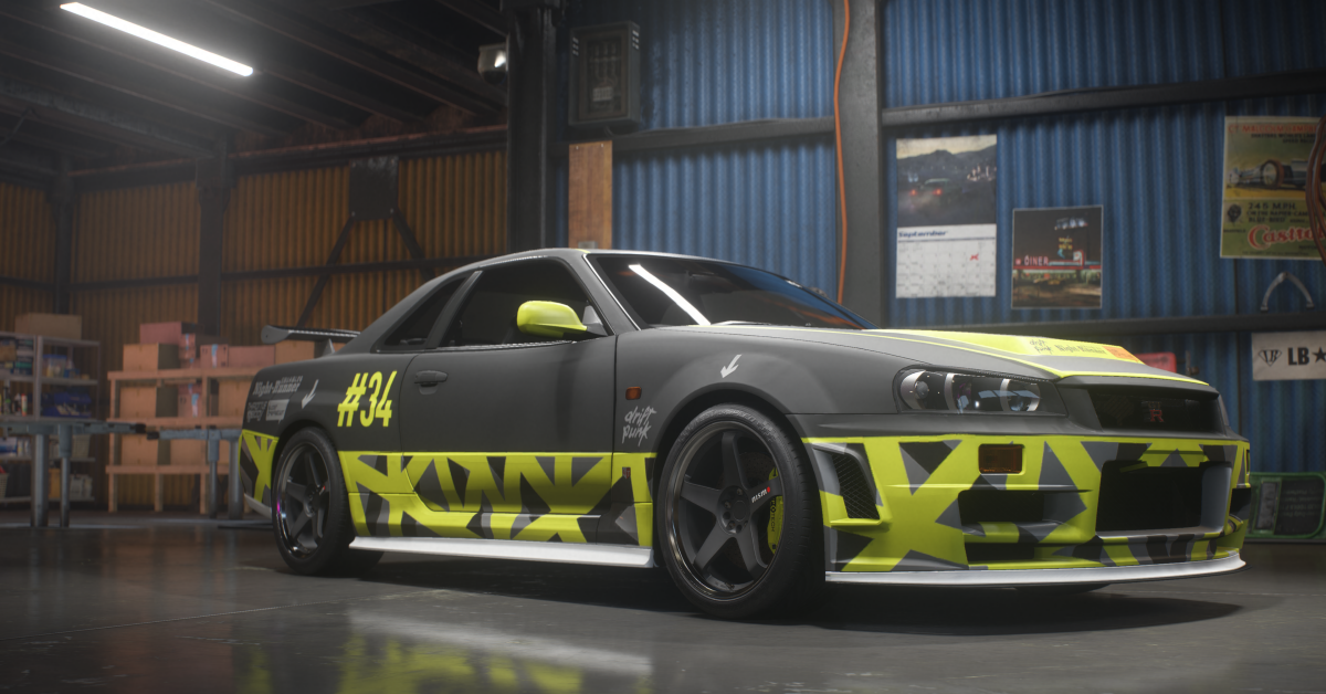 NISSAN Skyline GT-R V-Spec 1999 - Build of the Week - Need for Speed Payback 10c404dcf7a