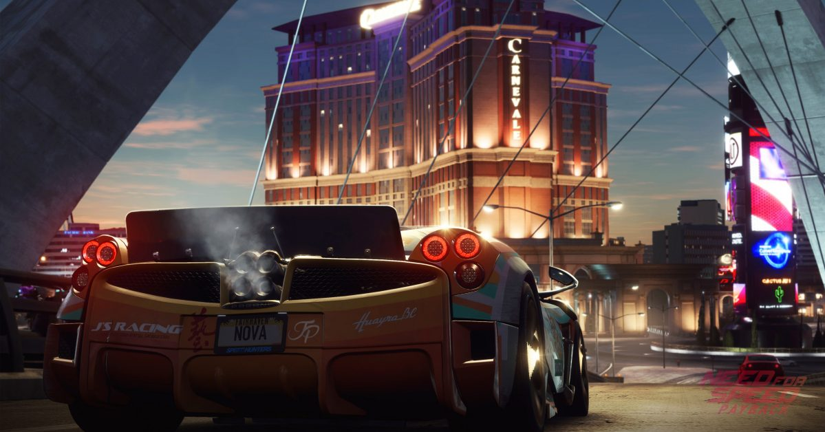 Need For Speed Payback PC System Requirements
