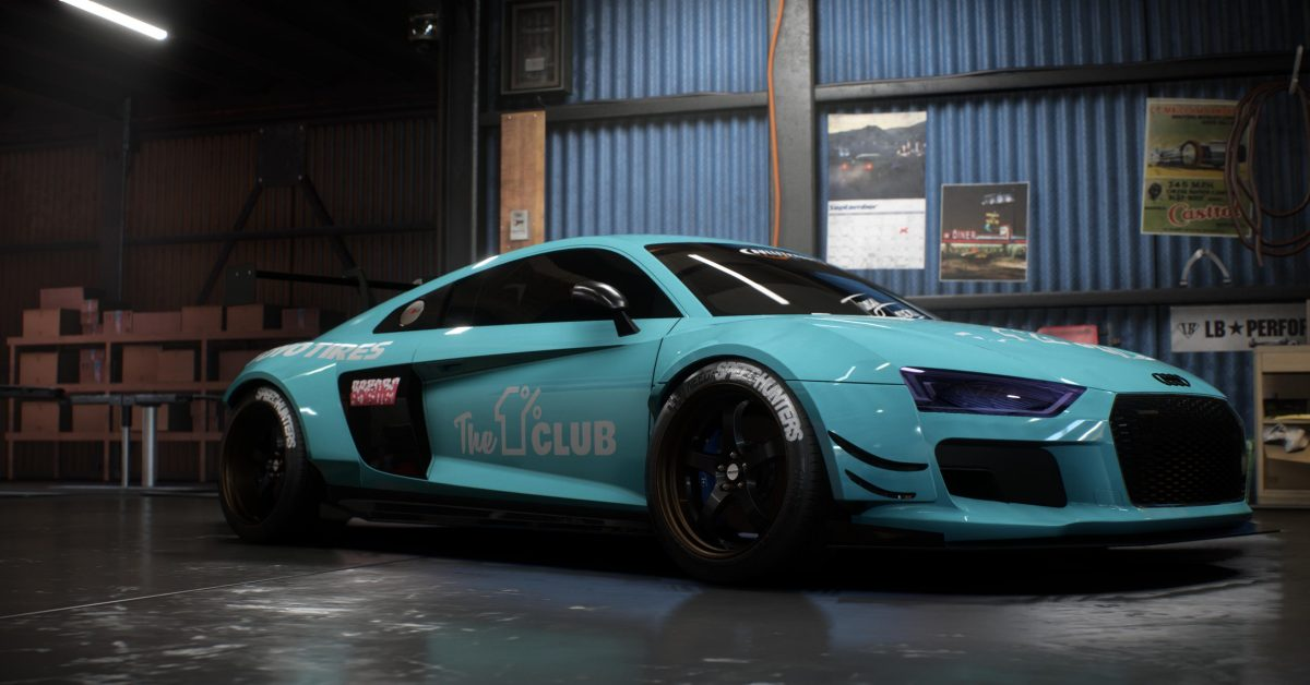Audi R8 V10 Plus - Build of the Week - Need for Speed Payback