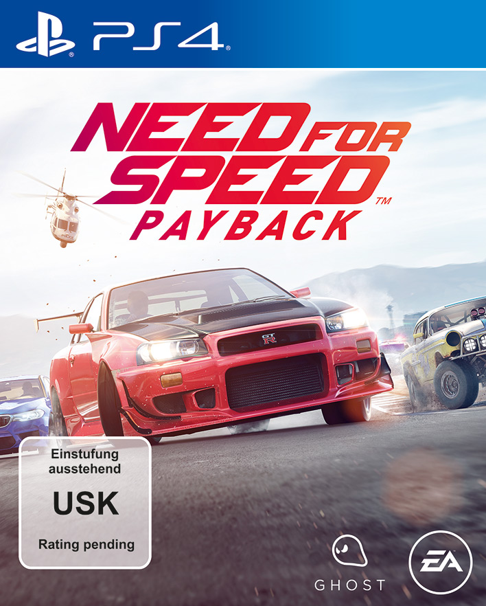 Need for Speed Payback Standard Edition PS4
