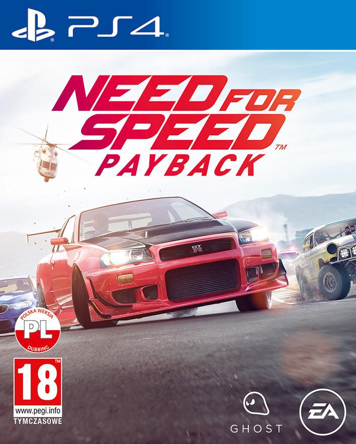 NEED FOR SPEED PAYBACK – EDYCJA STANDARDOWA PS4