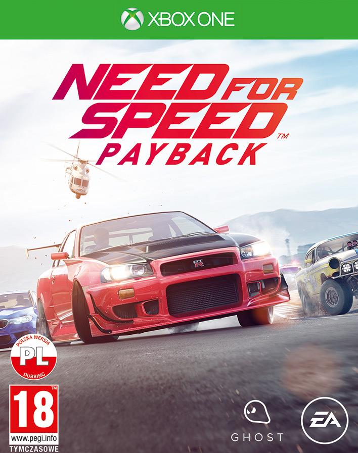 NEED FOR SPEED PAYBACK – EDYCJA STANDARDOWA Xbox One