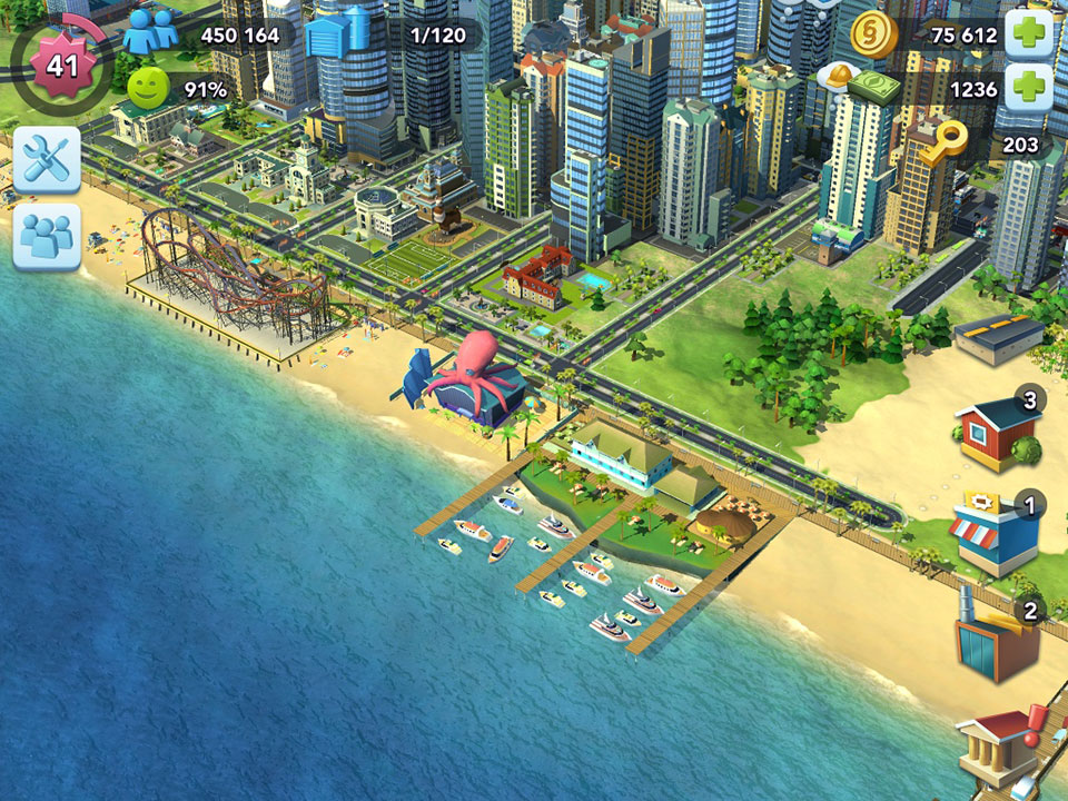 simcity buildit casino