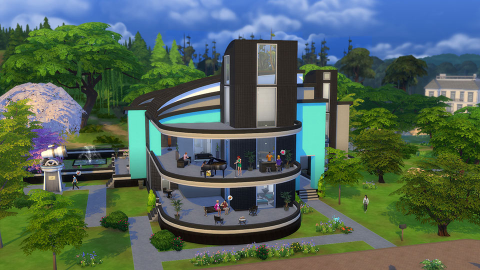 10 Awesome Fan Made Houses You Can Download In The Sims 4