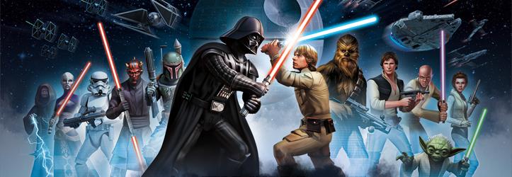 Star wars galaxy of heroes accueille les personnages de star wars le r veil de la force - Tous les personnages de violetta ...