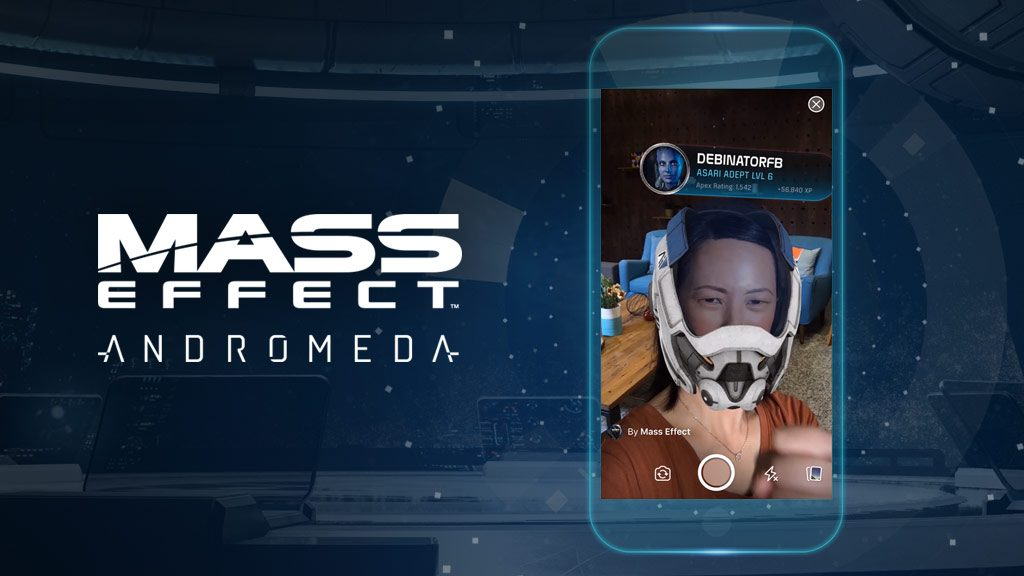 Facebook camera effects in the apex hq app for Facebook camera