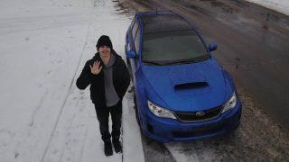 AR12Gaming with his Subaru STI