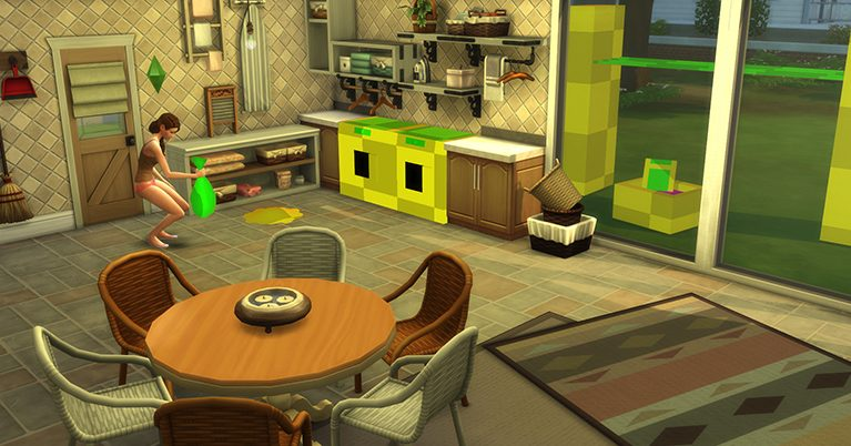 Behind Closed Doors: The Sims 4 Laundry Day Stuff Pack