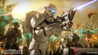 Deploy The Clone Commando On Felucia In Star Wars Battlefront Ii