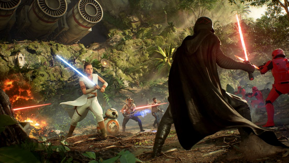 Making The Sounds Of Star Wars Battlefront Ii