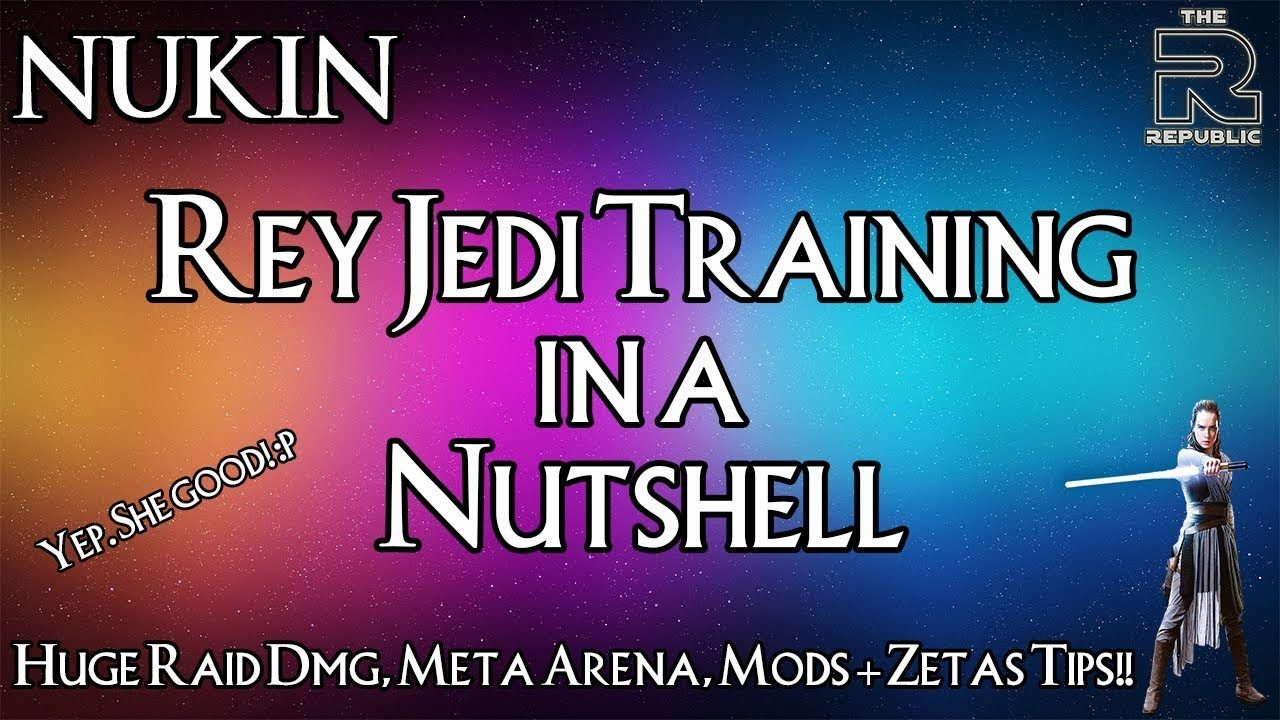 Rey (Jedi Training) Mod Suggestions & Zetas