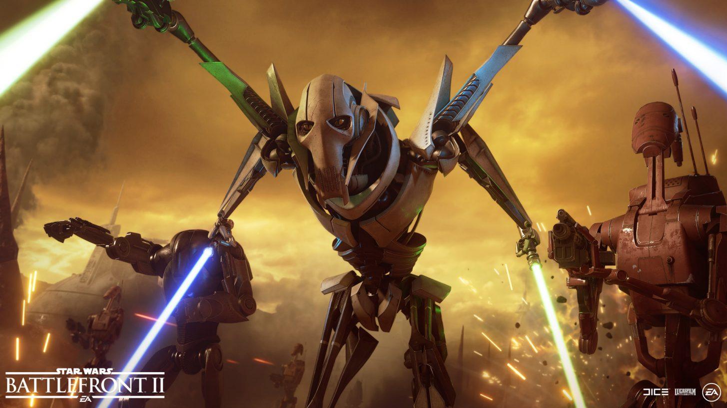 Star Wars Battlefront II: General Grievous chega em 30 de outubro 1