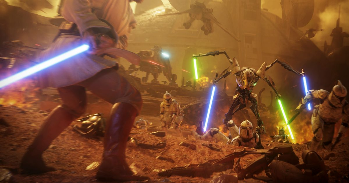 The Making Of Geonosis In Star Wars Battlefront Ii