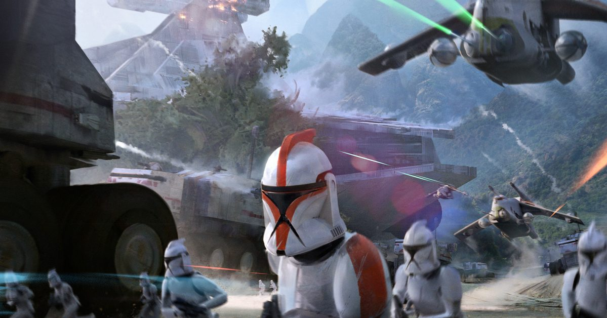 The Concept Art Of Star Wars Battlefront Ii