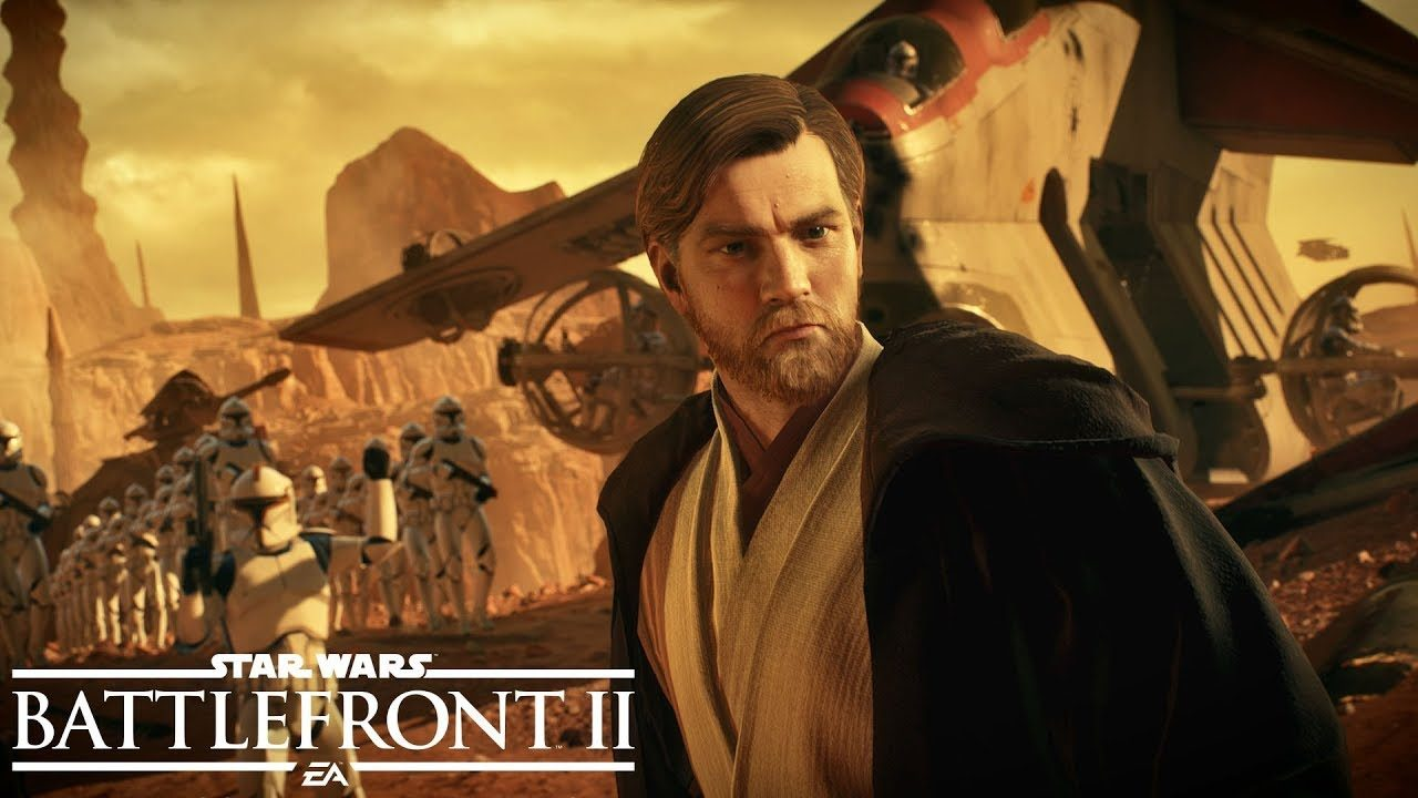 [Watch] Obi-Wan Kenobi gameplay footage in Star Wars Battlefront II