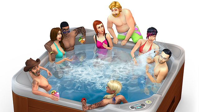 Hit the Hot Tub! The Sims 4 Perfect Patio Stuff is Coming Next Week