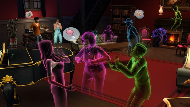 Dating a ghost sims 4