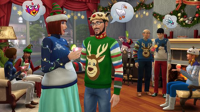 Вечеринки в «Симс 4» » m Вселенная игры the Sims! 15