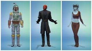 Feiert Den Star Wars Tag Mit Neuen Kostümen In Die Sims 4