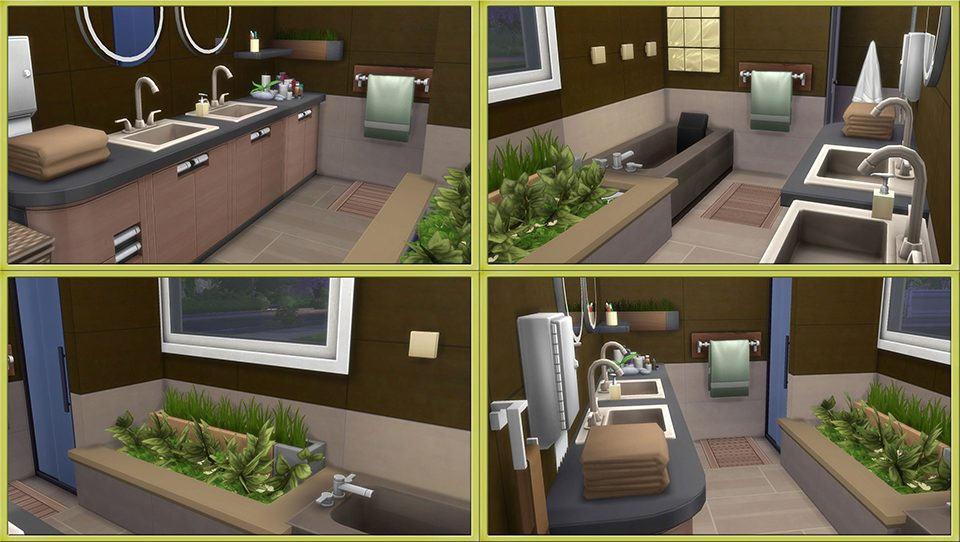 How to create an amazing bathroom in the sims 4 for Bathroom ideas sims 4