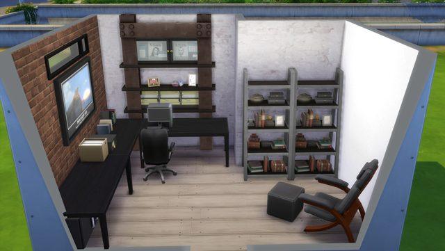 Ein fantastisches Büro in Die Sims 4 erstellen