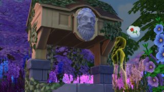Be Careful What You Wish For in The Sims 4 Romantic Garden Stuff
