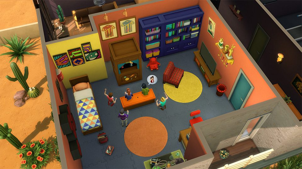 5 tips to creating awesome rooms in the sims 4 kids room stuff for Rooms 4 kids