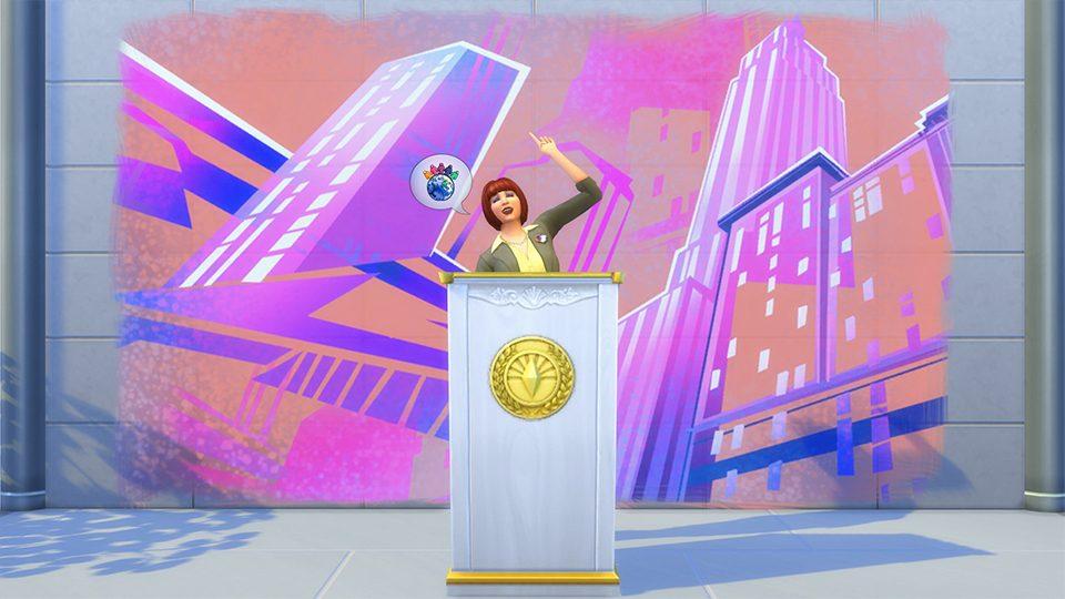 Bei Den Neuen Karrieren Von Die Sims 4 Großstadtleben Müssen