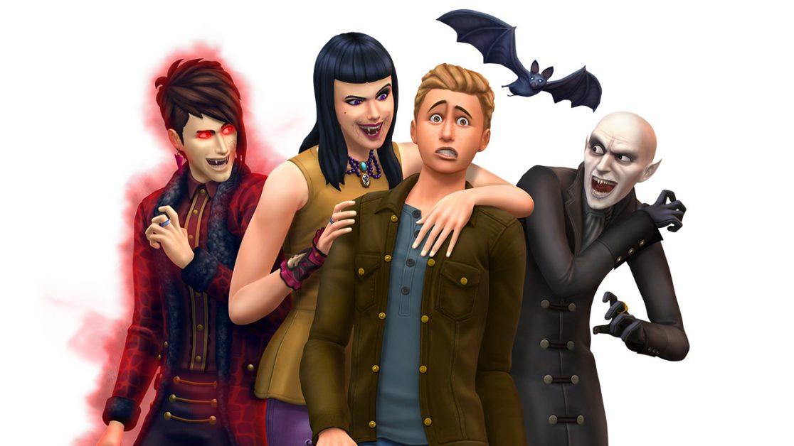 the sims 4 vampiri game pack download