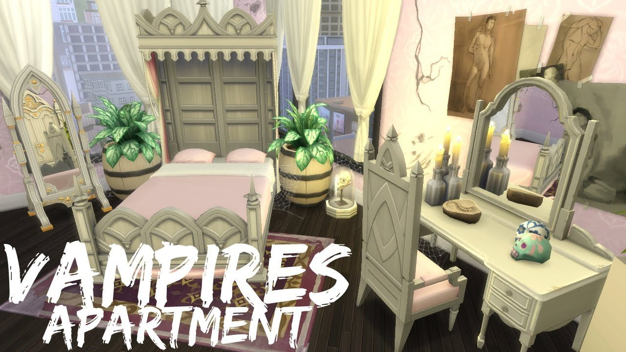 6 Amazing Creations Using The Sims 4 Vampires Game Pack - Make-your-room-look-like-a-vampires-room