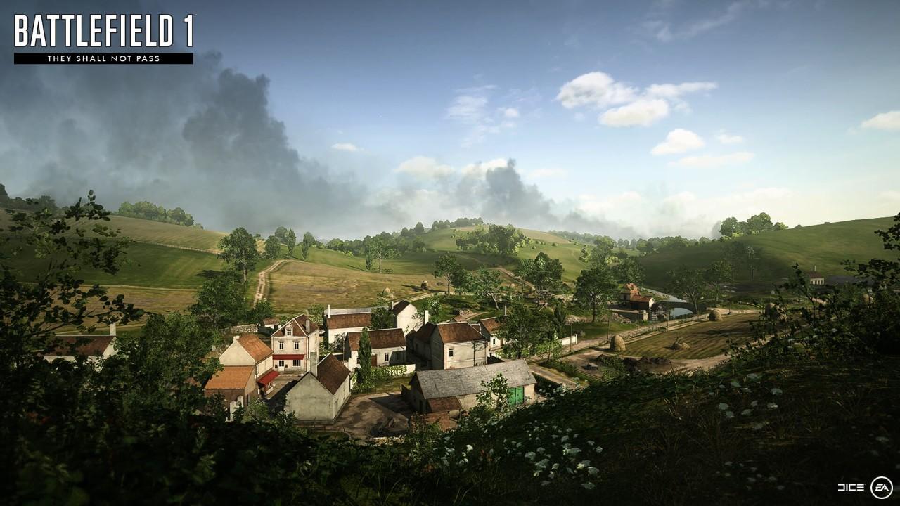 Výsledek obrázku pro battlefield 1 they shall not pass verdun heights