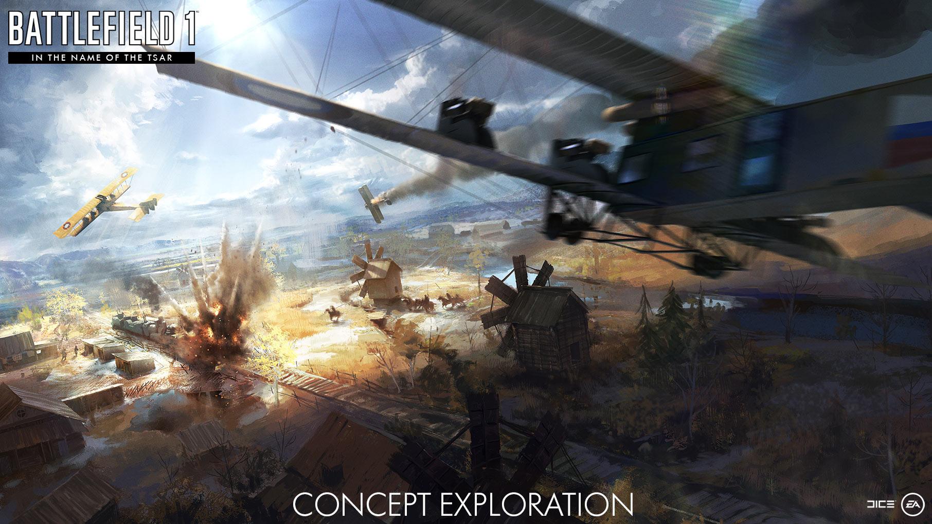 Battlefield 1 tsar In the name of the Tsar