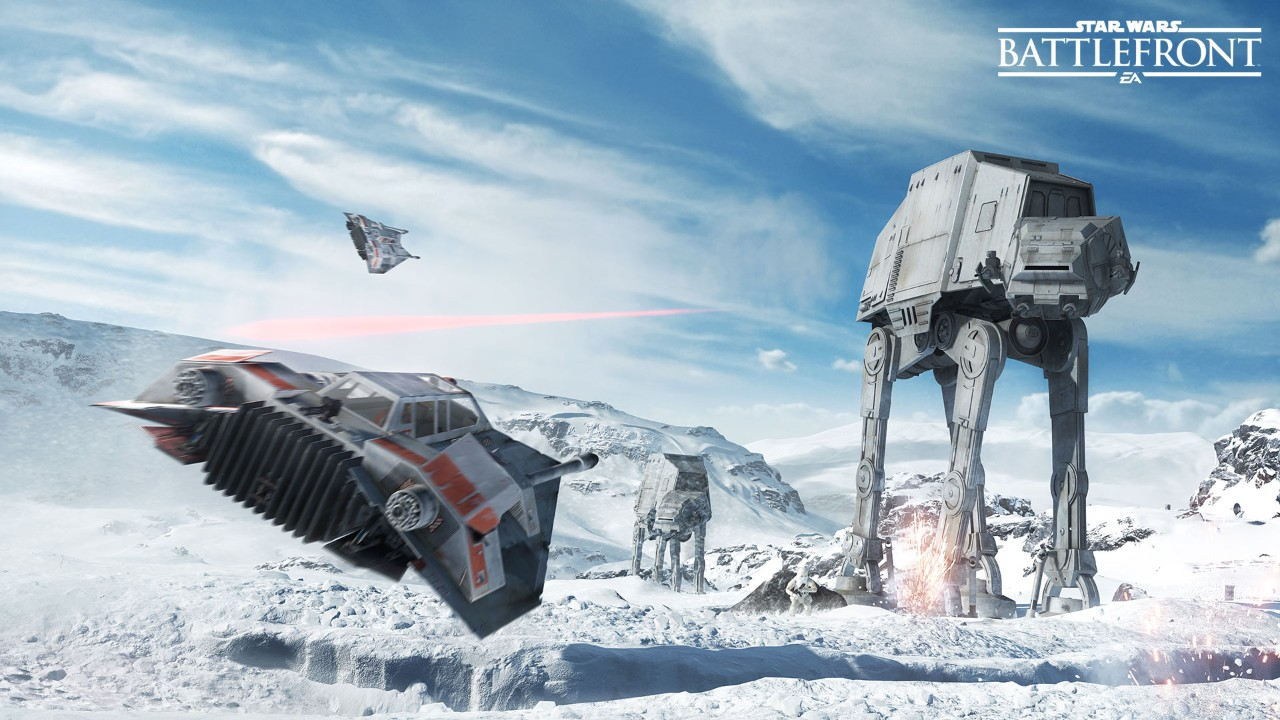 Defend or Bring Down AT-ATs in Walker Assault Mode