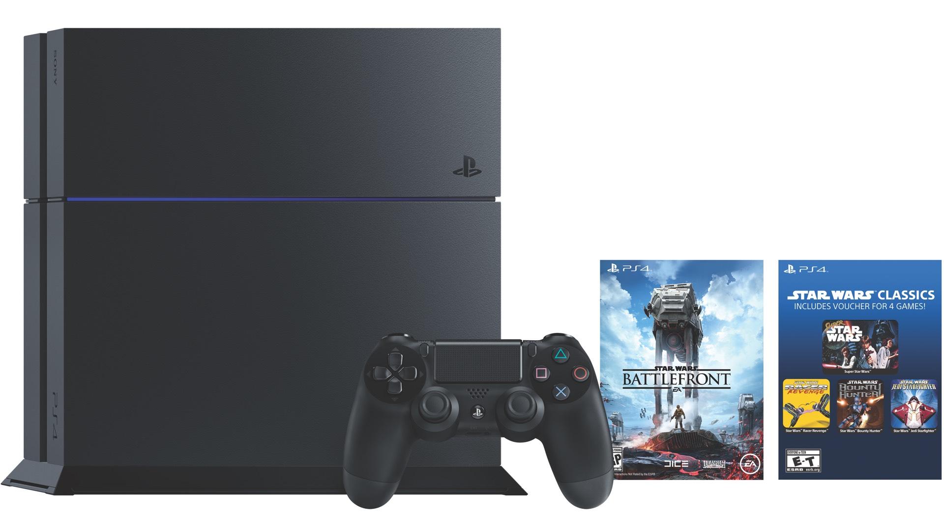 Star Wars Battlefront Standard Edition PS4 bundle