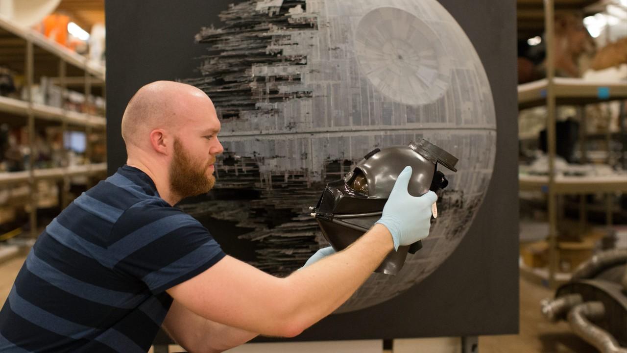 Darth Vader's mask