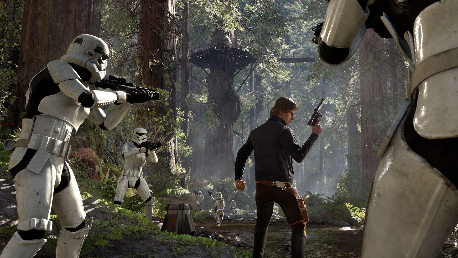 выходные двойного начисления очков в Star Wars Battlefront