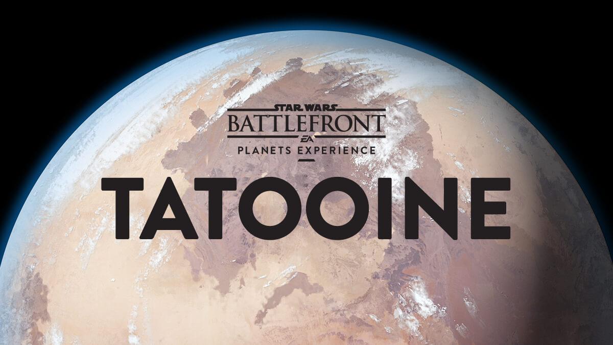 Star Wars Battlefront Planets: Explore Tatooine - Star